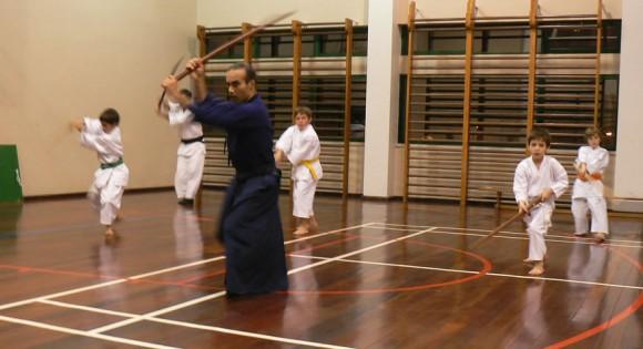 Battojutsu Training