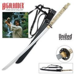 United Cutlery Highlander Katana Sword Replica