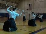 Rhythm naginata final pose