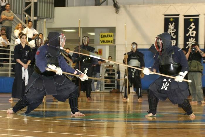 Naginata practice