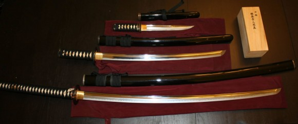 Paul Chen's Hanwei Tiger Katana Set