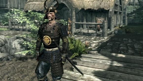 Samurai Armor in Skyrim